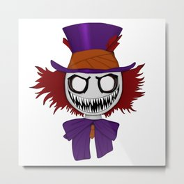 Really Mad Hatter Metal Print