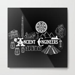 Ancient Engineers Metal Print