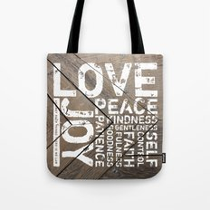 Against Such Things There Is No Law Tote Bag