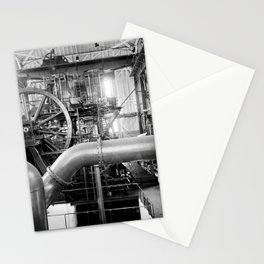 Calumet and Hecla stamp mill, Lake Linden, Michigan  Stationery Cards