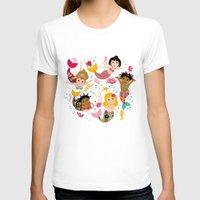 mermaids T-shirts featuring Mermaids by Helene Michau