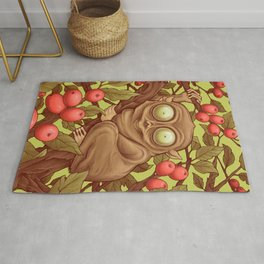 The Caffeinated Tarsier Rug