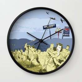 Who's the Savage Now? Wall Clock