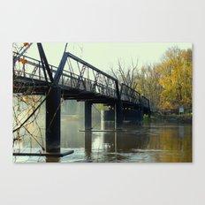 The Old 57th Street Bridge Canvas Print