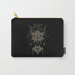 Do What Thou Wilt - Aleister Crowley Carry-All Pouch