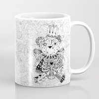 teddy bear Mugs featuring Teddy Bear by Gribouilliz