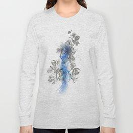 Hawk Illustration Long Sleeve T-shirt