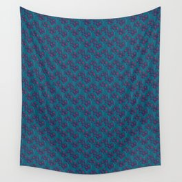 Bold Botanical Seed Pods Wall Tapestry