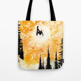 Fire Sky Tote Bag