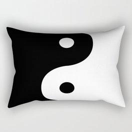 Yin And Yang Sides Rectangular Pillow