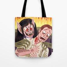 Bat Woman Tote Bag