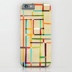 The map (after Mondrian) iPhone 6s Slim Case