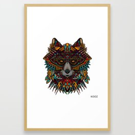 WICKED WOLF  Framed Art Print