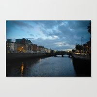 dublin Canvas Prints featuring Dublin by Ashley Hirst Photography