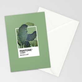 Pantone Series – Banana Leaf Stationery Cards
