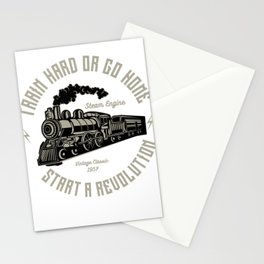 Train Hard Or Go Home Start A Revolution Stationery Cards