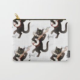 Dancing Cats Carry-All Pouch