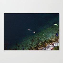Untitled. Lago di Garda Veneto. Canvas Print