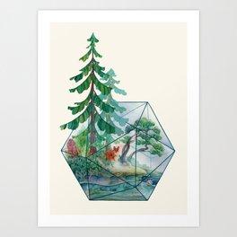 Mainerrarium Art Print