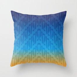 Parang Sunrise (Batik) Throw Pillow