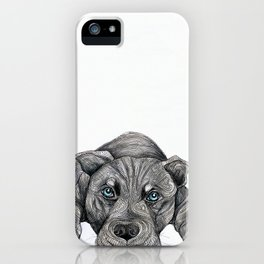 Deed, not breed... iPhone Case