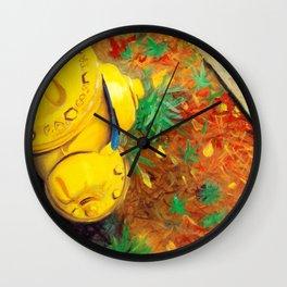 Hydrant Wall Clock