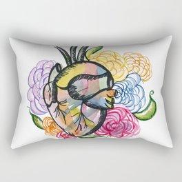 Clear your heart  Rectangular Pillow