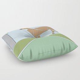 Caught Browsing Floor Pillow