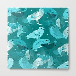 Sea Gulls Metal Print
