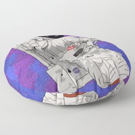 Hypebeast Spaceman Floating In Space | High Quality Artwork Floor Pillow