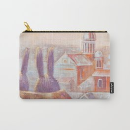 Two Rabbits in Rome Carry-All Pouch