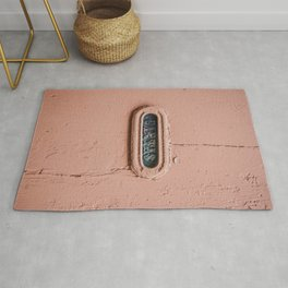"""""""CARTAS"""", a vintage Portuguese Mail Slot with beautiful lettering. Rug"""