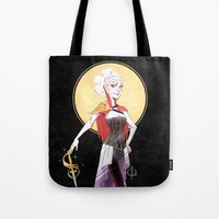 black and gold Tote Bags featuring Black & Gold by LRstudio