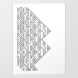 stacked Art Print