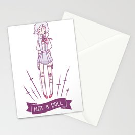 NOT A DOLL Stationery Cards