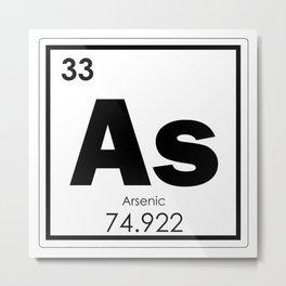 Arsenic chemical element Metal Print