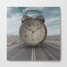 A Matter of Time Surreal Metal Print