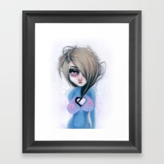 can I disappear Framed Art Print