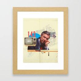 Mr. Rogers 143 Framed Art Print