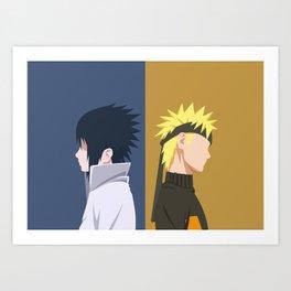 Ninja Rivals Art Print
