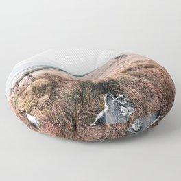 Landscape in Wales Floor Pillow