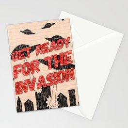UFO Invasion Stationery Cards