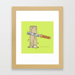 Rasp it Framed Art Print