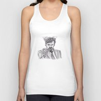 murray Tank Tops featuring Murray (Prince of Parties) by jamestomgray