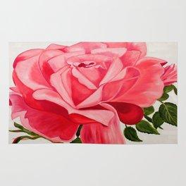 rose flower Rug
