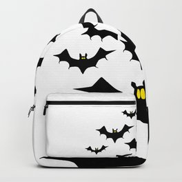Isolated Bats Backpack
