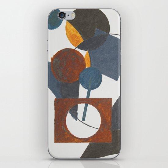 Constructivistic painting iPhone Skin