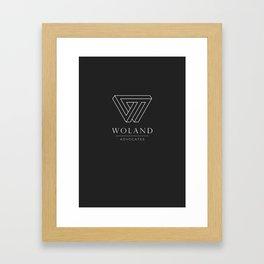 Woland Advocates Framed Art Print