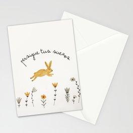 bunny dreams Stationery Cards