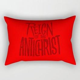 Reign of the Antichrist Rectangular Pillow